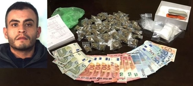 "Deteneva super cannabis ""skunk""  in casa: arrestato dai Cc"