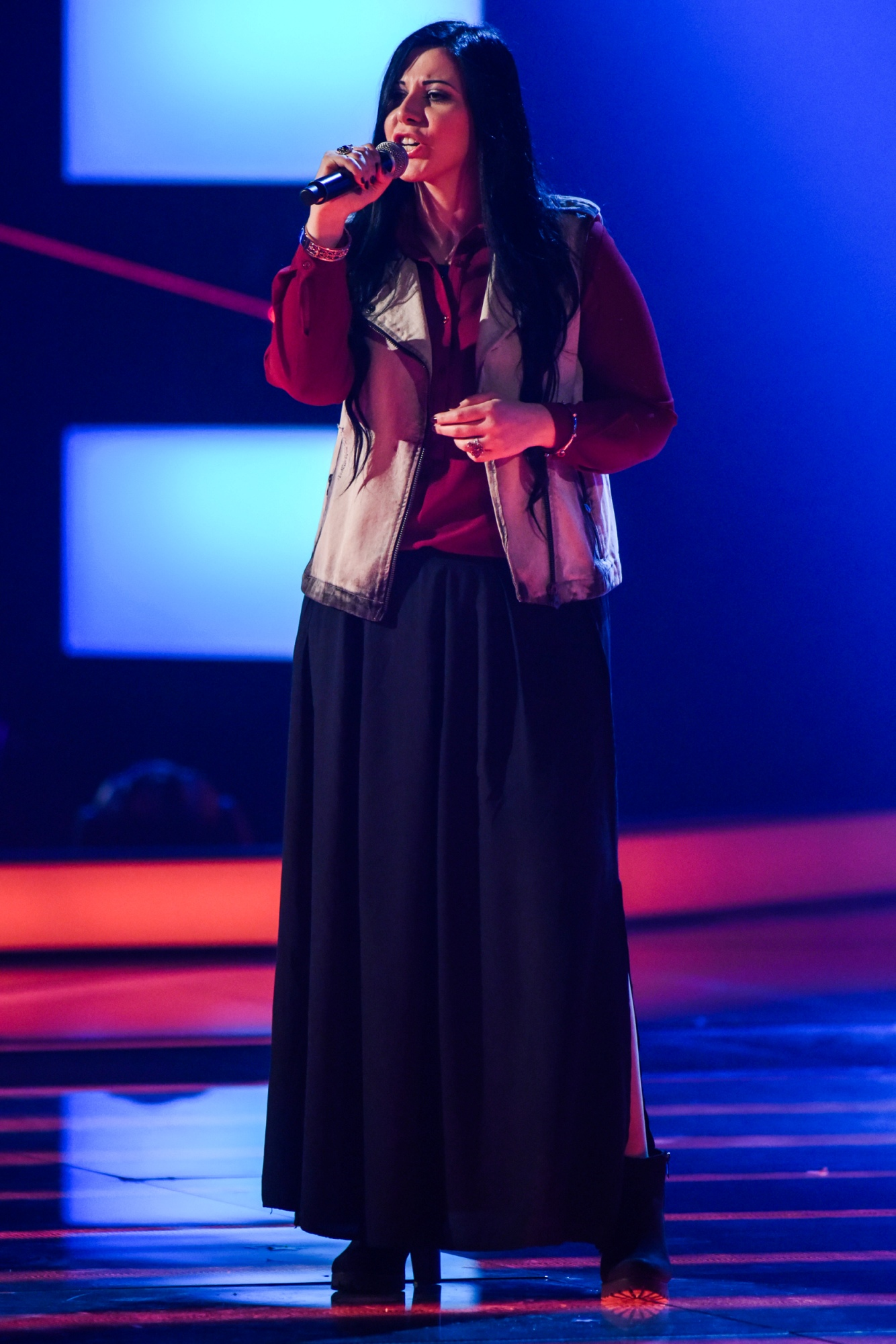 Rai2: Agata Aquilina di Ribera supera le audizioni di The Voice of Italy!