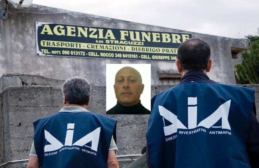 Mafia: 5 mln sequestrati a boss clan Spartà, 're' onoranze funebri (vd)