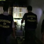 La droga sequestrata dalla Guardia di finanza