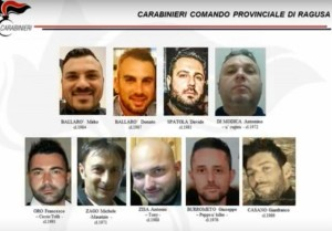 Kamarina drugs, gli arrestati
