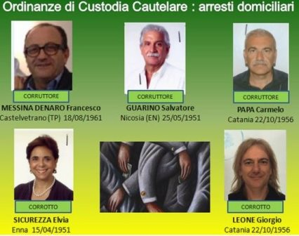 "Operazione ""Blood Money"", arrestati (domiciliari) imprenditori e dirigenti medici (video)"