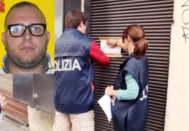 Polizia sequestra beni per 200mila euro a imprenditore Cutrona (video)