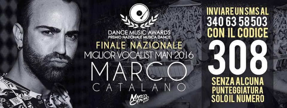 Marco Catalano in finale ai Dance Music Awards: unico siciliano in gara