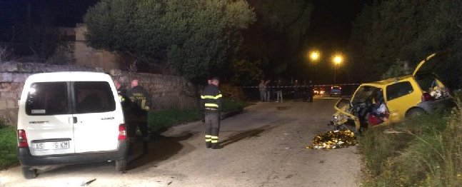 Incidenti stradali: un morto e due  feriti