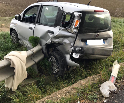 Agrigento, due incidenti in poche ore: 5 feriti