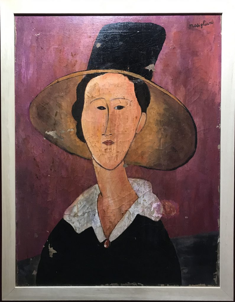 Falsi Modigliani in mostra: quadri sequestrati e due indagati