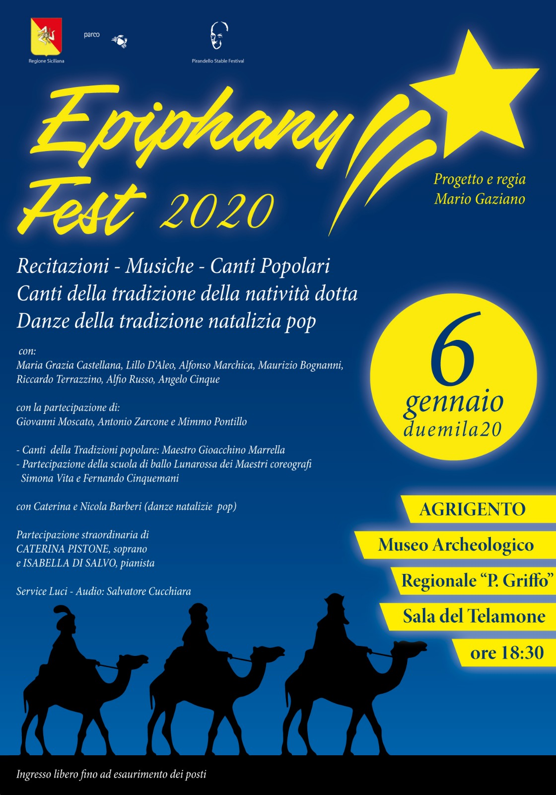 Epiphany fest 2020 al Museo Griffo di Agrigento