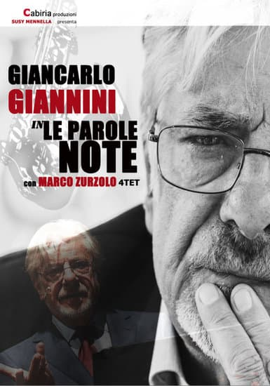 "Al Pirandello il recital ""Le Parole Note"" di Giancarlo Giannini"