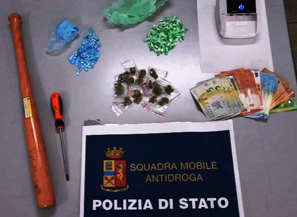Polizia arresta un uomo e sequestra 124 dosi di cocaina